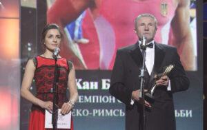 Яна Шемякіна та Сергій Бубка
